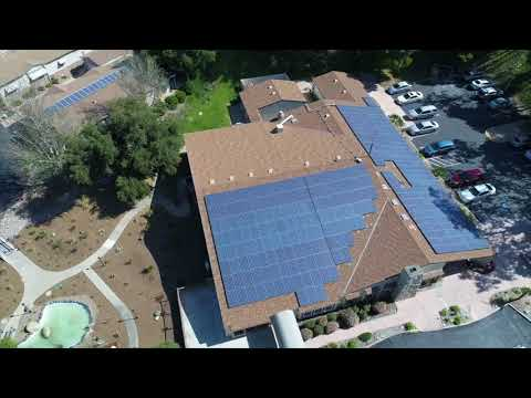 Champagne Village HOA Commercial Solar Power Project by TRITEC Americas
