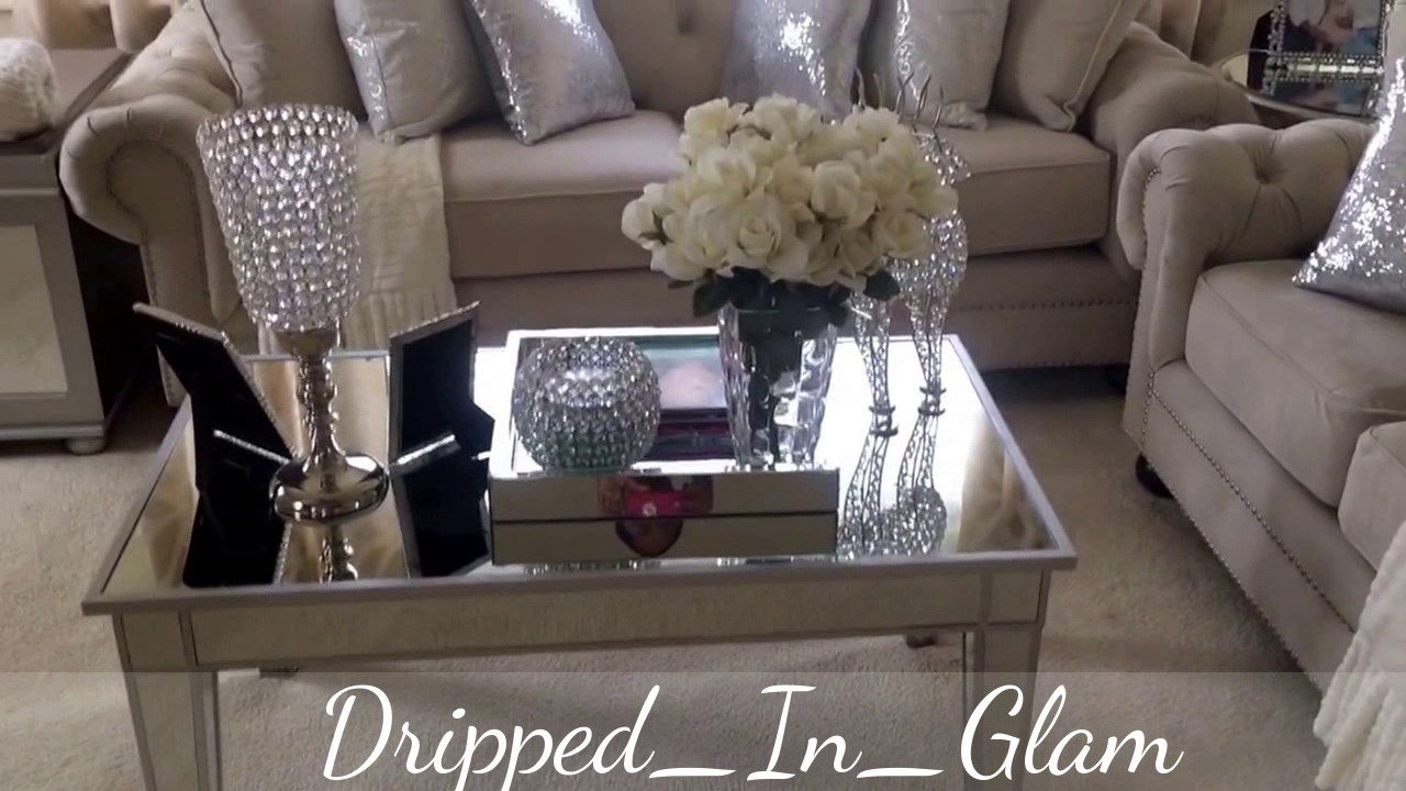 glam sofa set small chaise bed uk living room tour youtube