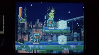 5K footage Mega Man 8 on a Sony Trinitron CRT