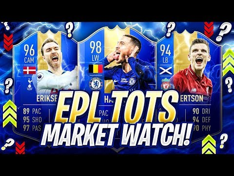 EPL TOTS! MAKING AN INVESTMENT!! FIFA 19 Ultimate Team