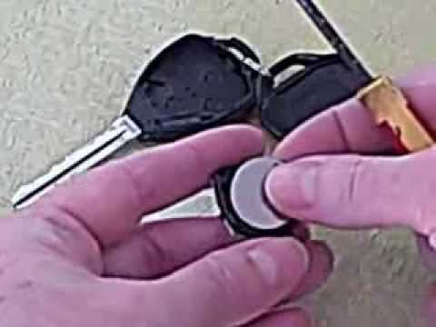 car remote key replacement battery 2007 camry youtube. Black Bedroom Furniture Sets. Home Design Ideas
