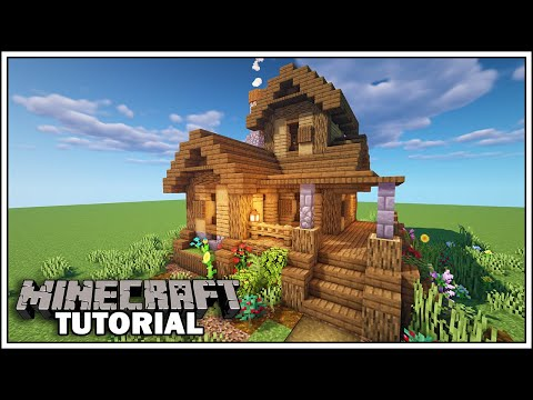 Minecraft 1.15 - Survival Starter House Tutorial