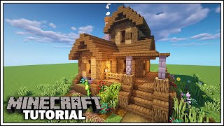 Minecraft Survival Starter House Tutorial YouTube