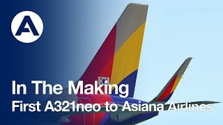 In the Making: First #A321neo …