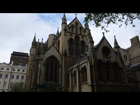(4K)Travel to London 2014 - Church of Christ the King, Bloomsbury