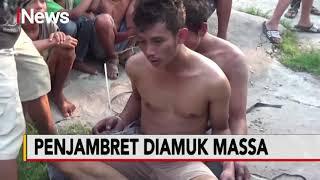 Jambret Tas Emak-emak, Dua Pemuda di Medan Diamuk Warga - Police Line 26/08