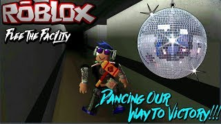 Dancing Our Way To Victory! | Roblox Flee The Facility