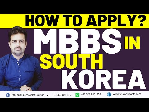 MBBS in South Korea for Pakistani Students | Apply MBBS in Abroad