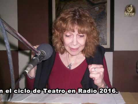 """Teatro en Radio. Hoy escucharemos el monólogo de la  autora argentina Griselda Gambaro:""""El Nombre"""""""
