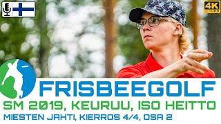 Finnish Nationals 2019, MPO Chase Card, Round 4of4, Back 9 | Häme, Piironen, Aalto, Autio | 4K