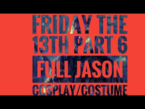 Friday The 13th Part 6 Jason Lives Full Cosplay/Costume