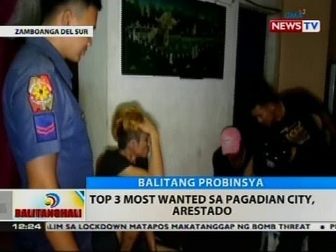 BT: Top 3 most wanted sa Pagadian City, arestado