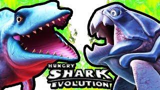 hungry shark evolution mr snappy vs big daddy