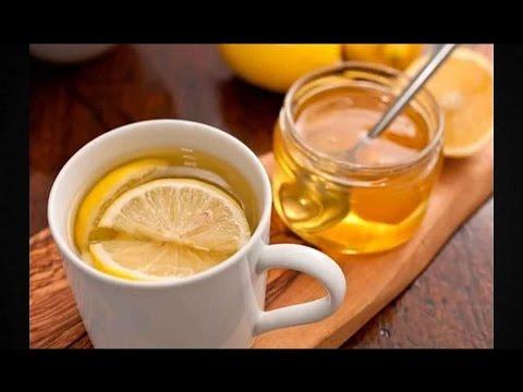 Вода с лимоном медом и имбирем для похудения