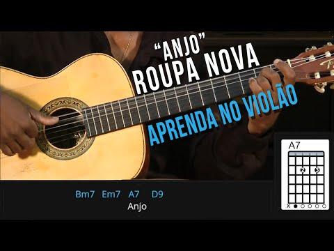Roupa Nova - Anjo (como tocar - aula de violão)