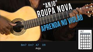 Roupa Nova - Anjo (como tocar - aula de violão )