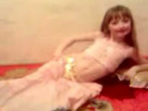 танец живота Кариночка 7 лет