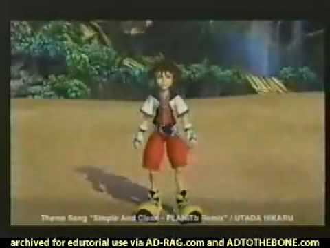 Kingdom Hearts Commercial