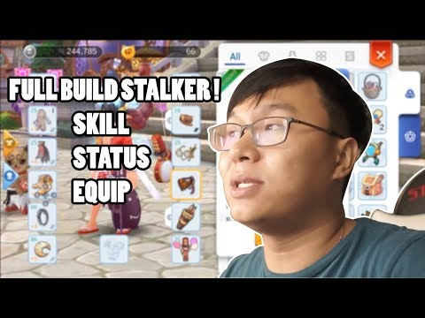 BUILD STALKER RICOKUCING ! #ragnarokmobile