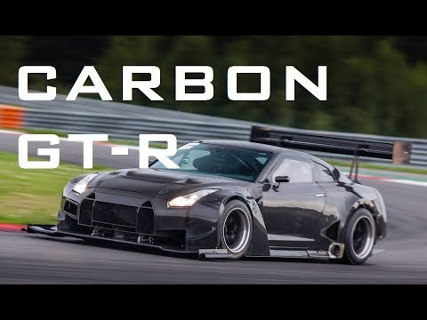 Carbon Bodied Nissan GT-R Track Car Build Project