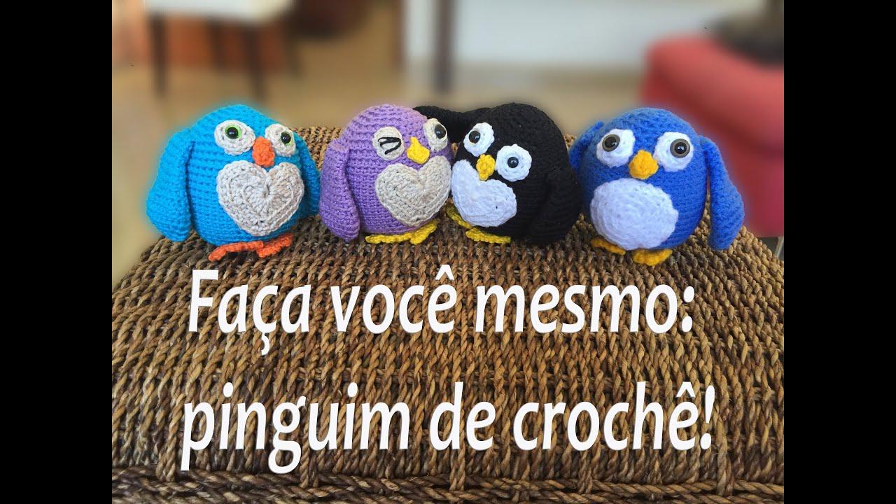 Aprenda Método Crochê - Pinguim Amigurumi Receitas Top #16 - YouTube   720x1280