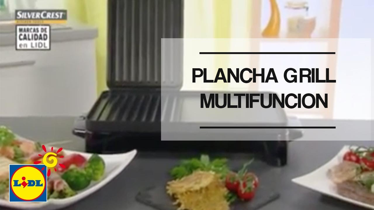 plancha grill multifunci n lidl espa a youtube. Black Bedroom Furniture Sets. Home Design Ideas