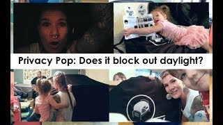 Privacy Pop Unboxing: Does it block out daylight? PLUS: Bed Tent Set Up & Take Down