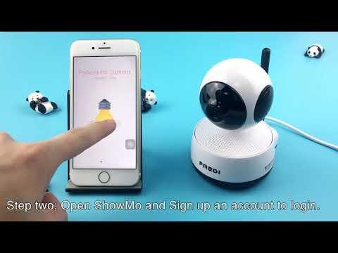 FREDI-EQ2 camra tutorial video