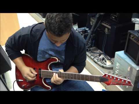 Ibanez Guitar test ,Doha Qatar