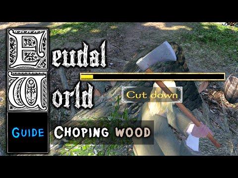 FEUDAL WORLD [Tutorial] - Wood: Choping, processing♞ Lets Play Mount&Blade Warband Feudal World Mod