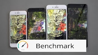 Benchmark: Apple iPhone 8 & 8 Plus vs Samsung Galaxy S8 & Note 8 | deutsch