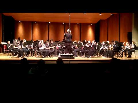 STEM Academy Concert Band at LGPE, March 13, 2015  Afterburn