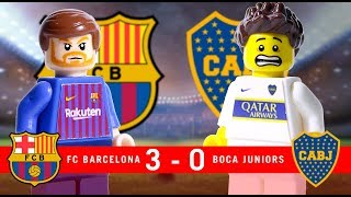 LEGO Barcelona Vs Boca Juniors JOAN GAMPER 2018
