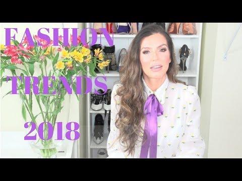 Fashion Trends Spring & Summer 2018