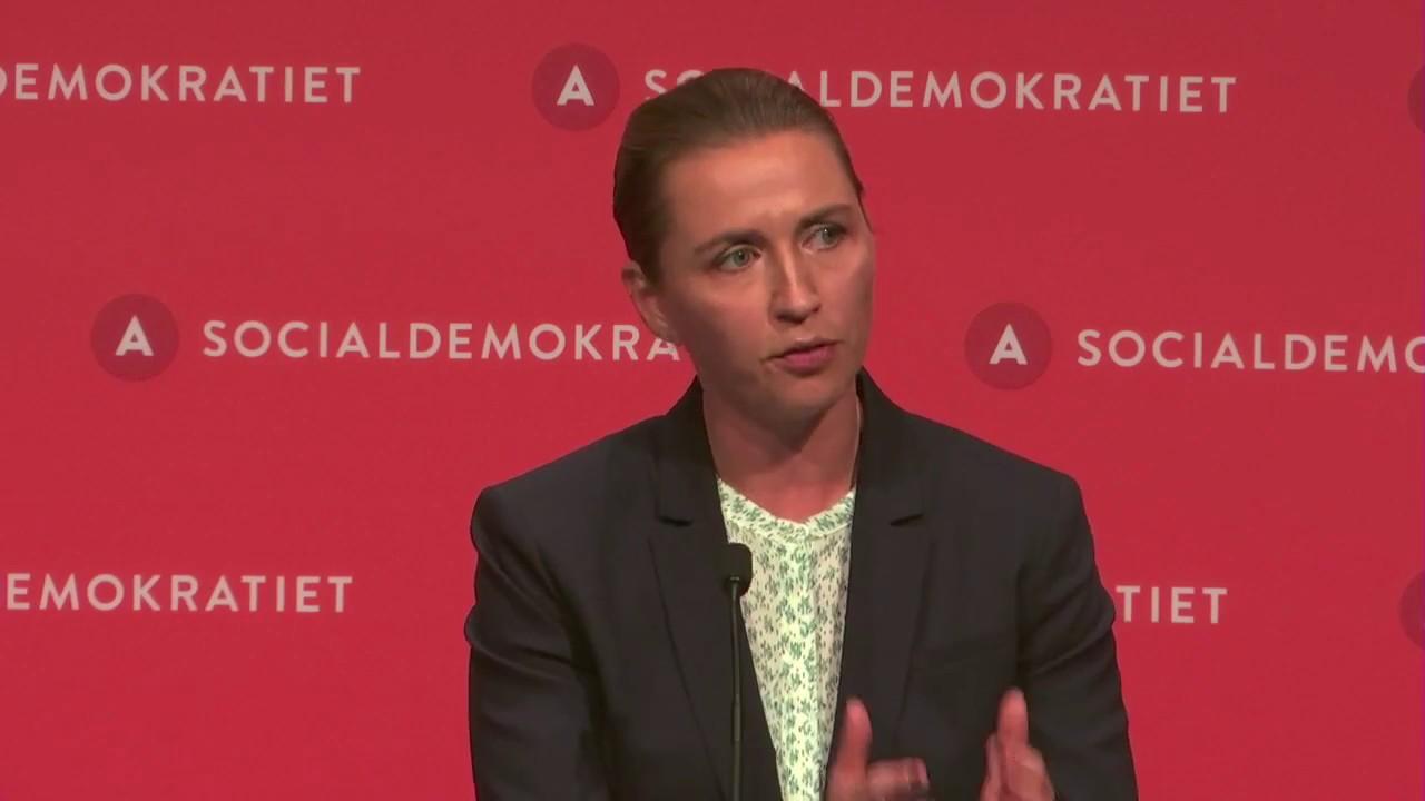 Mette Frederiksens beretning ved Socialdemokratiets kongres 2017