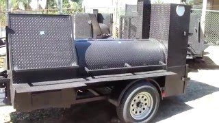 mega hogzilla smoker catering food truck business grill football tailgate for sale smoker bbq pit