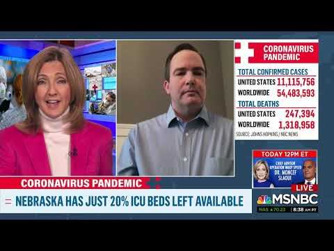 A stark warning about COVID-19, Dr. Dan Johnson, MSNBC - Nebraska Medicine