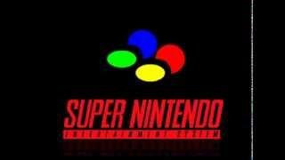 Super Nintendo Startup Screen