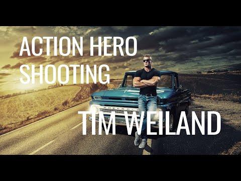 ACTION HERO SHOOTING BTS