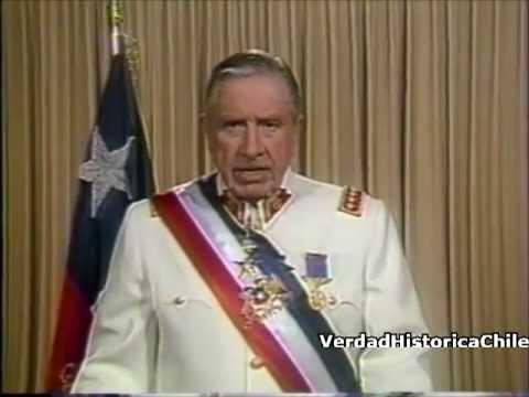 Augusto Pinochet: Ultimo Mensaje Presidencial 10 marzo 1990. ¡VIVA CHILE!