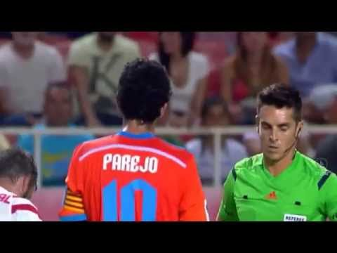 Rodrigo De Paul Sent Off Within 63 Seconds | Sevilla vs Valencia | 2014, HD