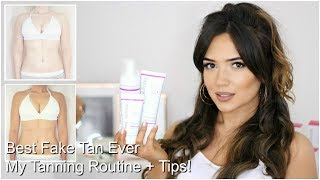 My Updated Tanning Routine | Best Tan I Have Ever Used
