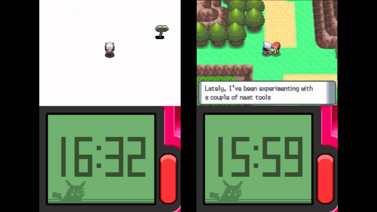 pokemon pearl - vs seeker skip comparison (non-tas) - youtube