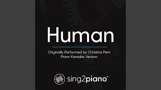 Gambar cover Human (Originally Performed By Christina Perri) (Piano Karaoke Version)