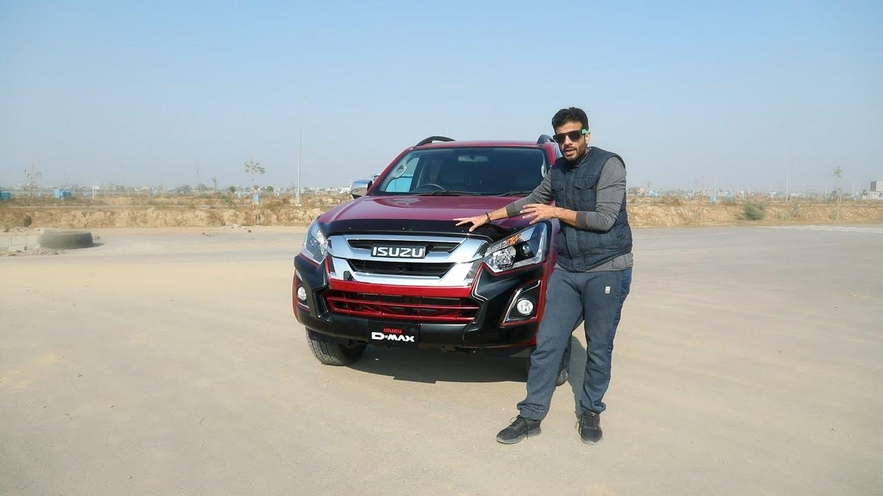 Isuzu D Max V Cross In Pakistan Pakwheels Expert Review