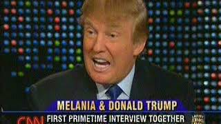Donald And Melania Trump on Larry King Live (2005), clip 3