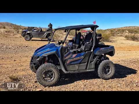 200 Mile Desert Adventure Ride in our Yamaha Wolverine X2