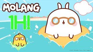 Molang - Endless summer with Molang and Piu Piu   cutecartoon More ⬇️ ⬇️ ⬇️