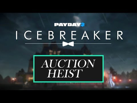 [Payday 2] Shacklethorne Auction Heist - Solo Stealth (Death Sentence)