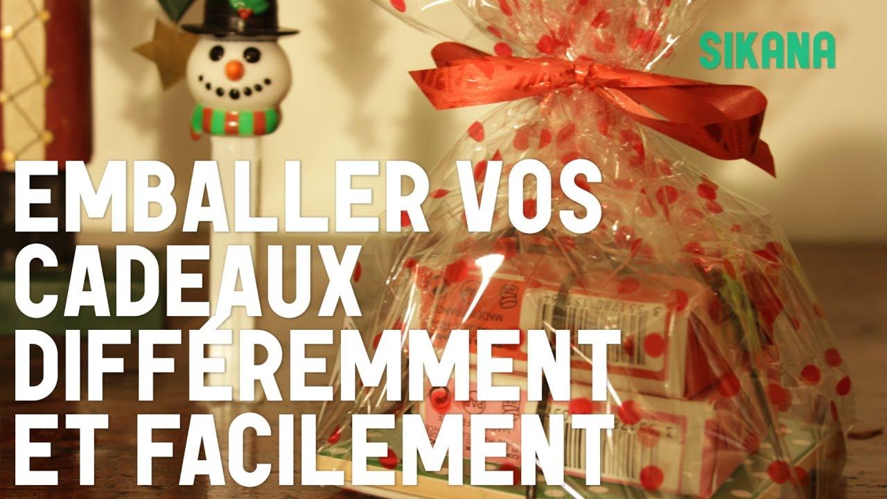 Emballer ses cadeaux diff remment et facilement youtube - Emballage cadeau de noel original ...